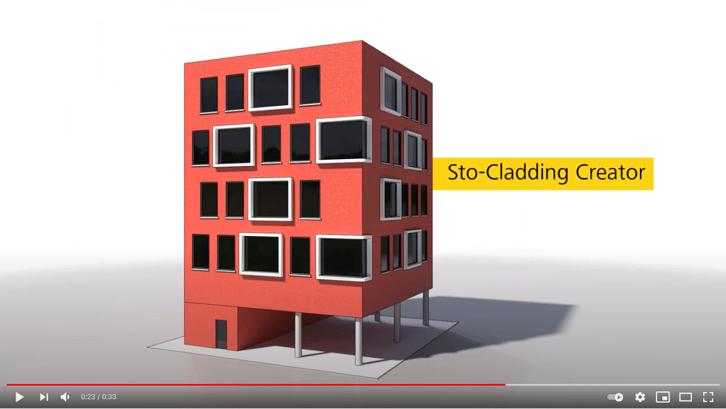 Preview filmpje StoCladding Creator (Medium)