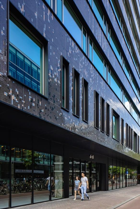 Gevelsysteem glasmozaiek_kantoor_Utrecht_